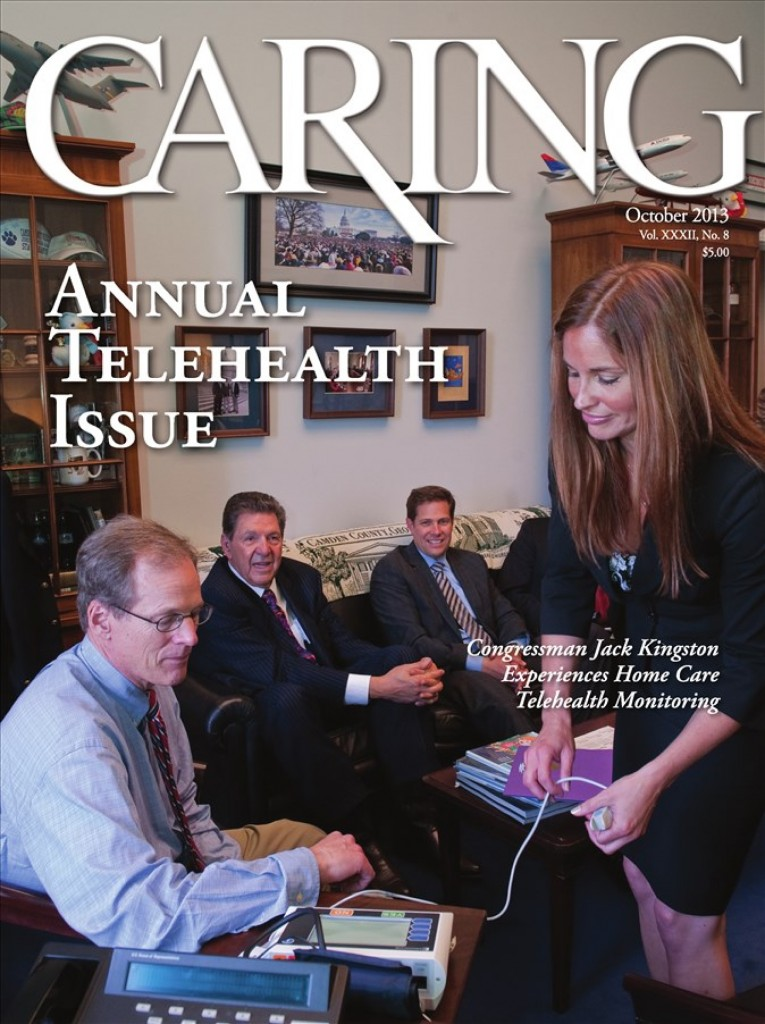 Caring Magazine - October 2013 - Cover