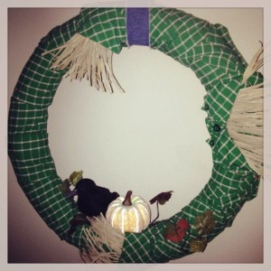 Wreath made by Kelly McBride